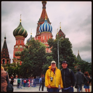 At St. Basil's Cathedral