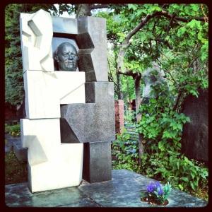 Nikita Khurshchev's grave