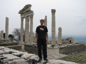 Shannon at Pergamum Turkey